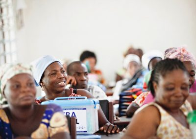 •Training and Equipping traditional birth attendants