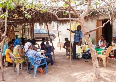 Programs Director of MamaCare-Ghana education on EBOLA Virus