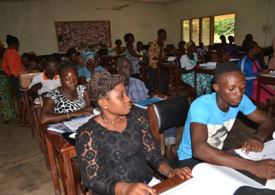 Training of Community health workers in basic midwifery